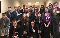 CHS Business Professionals of America (BPA) Students Qualify for States